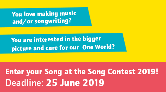 Enter your Song at the Song Contest 2019! Deadline: 25 June 2019